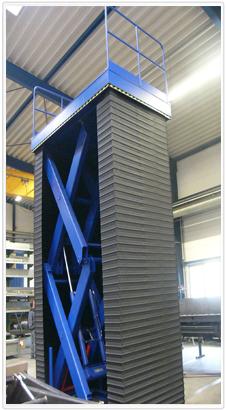 Double Scissor Lift - vertical | Eska Kossatz Maschinenbau GmbH